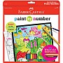 Paint By Number Fairy Garden with Watercolor Ecopencils