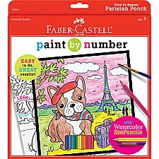 Paint By Number Parisian Pooch
