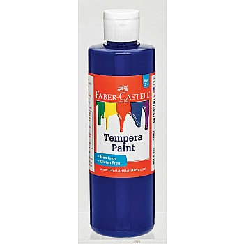 Blue Tempera Paint (8 oz bottles)