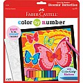 Color By Number w/ Markers Bloomin' Butterflies