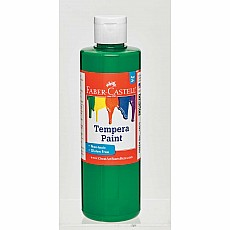 Green Tempera Paint (8 oz bottles)