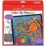 Color By Number Octopus