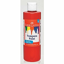 Red Tempera Paint