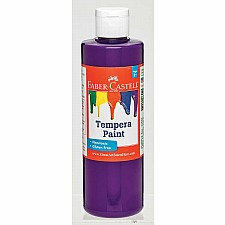 Purple Tempera Paint (8 oz bottles)