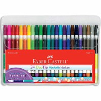 24 ct Duo Tip Washable Markers (48 colors total)