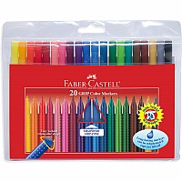 20 ct GRIP Fineline Washable Markers