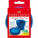 Collapsible Paint Cup  Blue