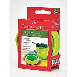 Clic&Go Collapsible Water Cup - Green