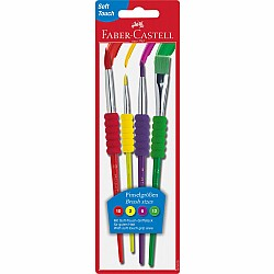 4 Pack Soft Grip Brushes (formerly 181600)