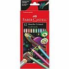 Metallic Colored Eco Pencils 12 Ct
