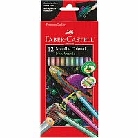 12ct Metallic Colored EcoPencils