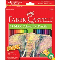 24ct MAX Colored EcoPencils