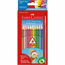 GRIP Watercolor EcoPencils 12-pack