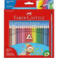 Grip Watercolor EcoPencils  24 ct.
