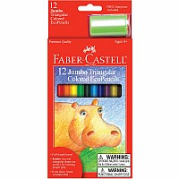 12 CT Jumbo Colored Pencils