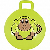 "18"" Lime Green Monkey Jumping Ball"