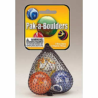 "Pack-A-Boulders (1 3/8"") Assorted Net"