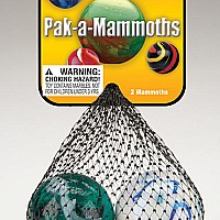 "Pack-A-Mammoths (1 5/8"") Assorted Net"