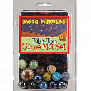 Table Top Marbles Mat Game Set - 16""