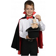 Classic Magician Cape - Black and Red