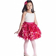 Petal Party Skirt - Fuchsia and Pink - Medium