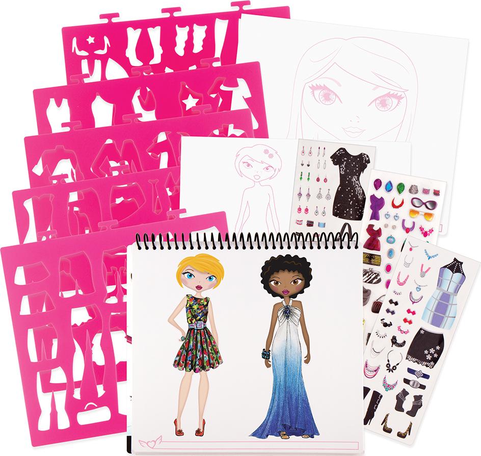 Fashion Design Sketch Portfolio Stevensons Toys