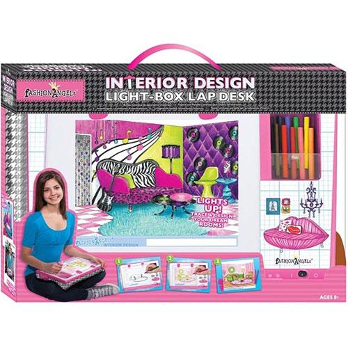 Interior Design Light Box Studio Set Young Minds Toys