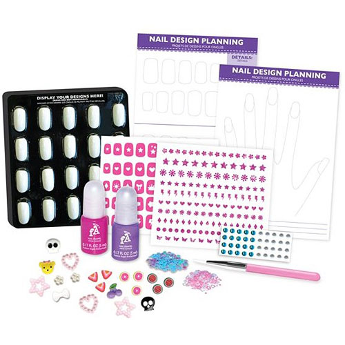 3d Nail Design Set Givens Books And Little Dickens