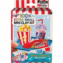 100% Extra Small Mini Clay Kit - Movie Treats