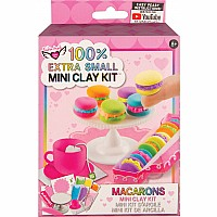 100% Extra Small Mini Clay Kit - Macarons