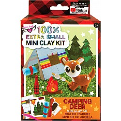 100% Extra Small Mini Clay Kit - Camping Deer