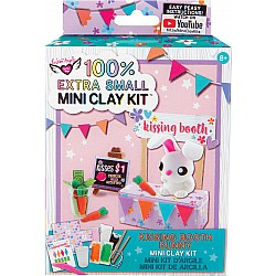 100% Extra Small Mini Clay Kit - Bunny Kissing Booth