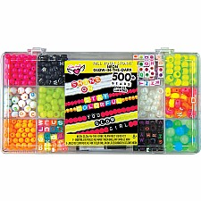 Tell Your Story Neon Glow Alphabet Bead Case - Small