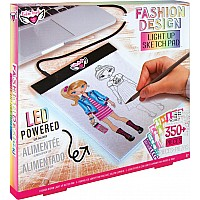 Fashion Design Light Pad Sketch Set