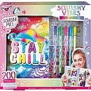 Stay Chill Sloth Squishy Activity Journal