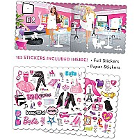 Barbie Fashion Stickerzine Sticker Album