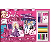 Barbie Glamtastic Fashion Sketch Portfolio With Art Set