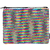 S. Lab Magic Sequin Pouch- Rainbow