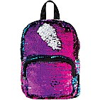 Magic Sequin Mini Backpack - Gradient/Silver