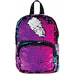 S. Lab Magic Sequin Mini Backpack - Gradient/Silver