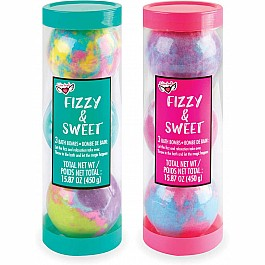 Fizzy & Sweet Bath Bomb Tube Assortment