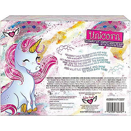 Unicorn Bath Burst Set