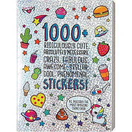 1000+ Ridiculously Cute Stickers Book: Series 1
