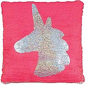 Magic Sequin Pillow-Unicorn Pink/Gold