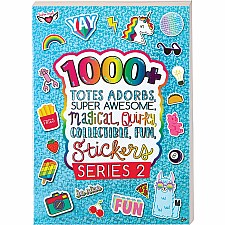 1000+ Totes Adorbs Super Awesome Stickers: Series 2