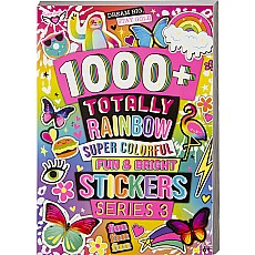 1000+ Rainbow Sticker Book