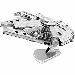 Fascinations 251 Star Wars Millennium Falcon Metal Earth 3D Metal Model Kit(Discontinued by manufacturer)