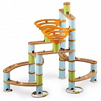 Bamboo Builder Marble Run- 168pcs
