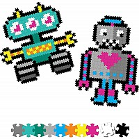 Jixelz 700 pc Set - Roving Robots