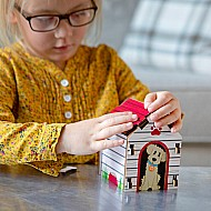 Build It Blueprint Puzzles - BIRDHOUSE